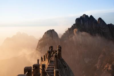 Mt. Huangshan Celestial Capital Peak
