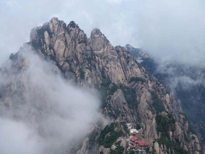 Celestial Capital Peak in Mount Huangshan