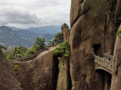 Buxian Bridge - Mount Huangshan