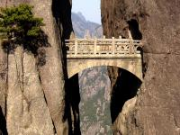 Fairy Walking Bridge - Huangshan Mountain