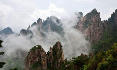 Huangshan Beihai (North Sea) Scenic Area