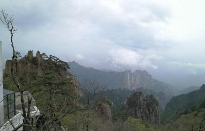 Cloud Valley Temple Scenic Area in Mt. Huangshan