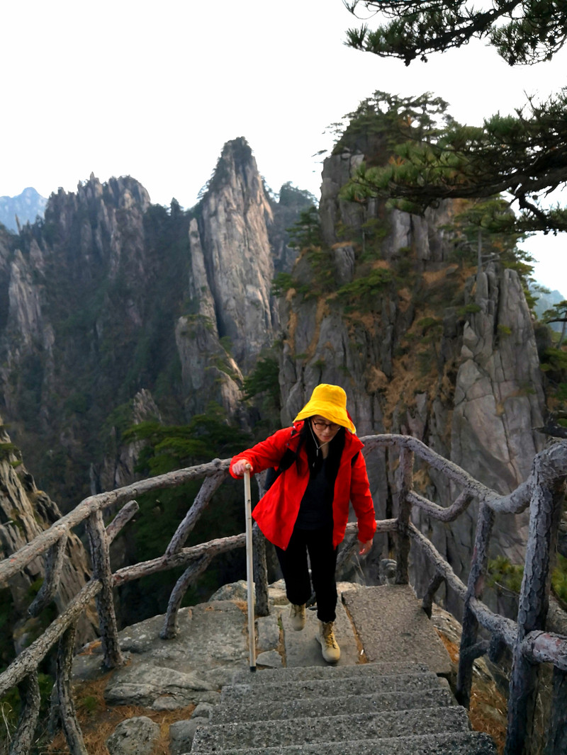 Hiking Mount Huangshan