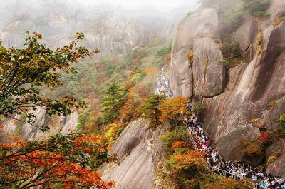 Mount Huangshan in Autumn