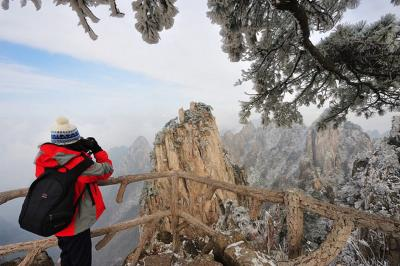 Mount Huangshan in Snow