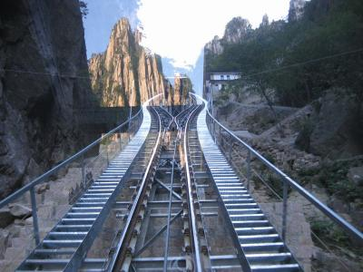 Yungu Cable Car Station in Mt. Huangshan