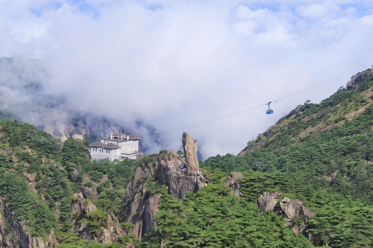 Yungu Cable Car Station - Huangshan